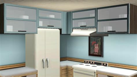 overhead kitchen cabinet mod the sims maxis match kitchen cabinets updated for