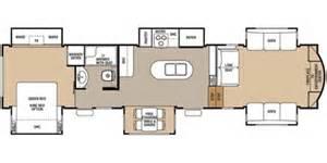 cedar creek fifth wheel floor plans 2016 forest river cedar creek hathaway edition 38fl6