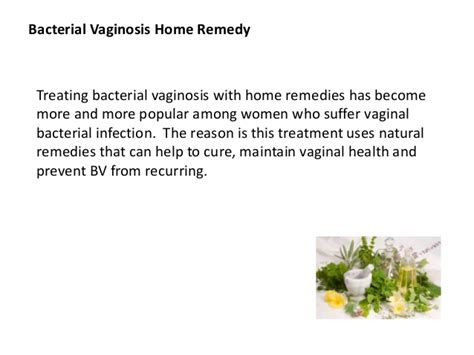 bacterial vaginosis home remedy easiest and fastest way