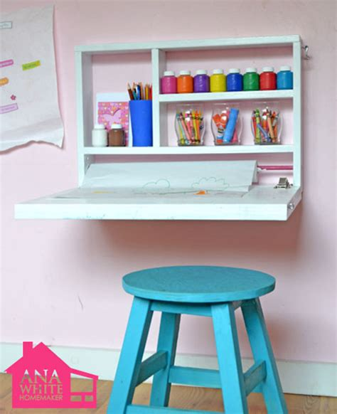 Kid Desks For Small Spaces Why Wall Mounted Desks Are For Small Spaces