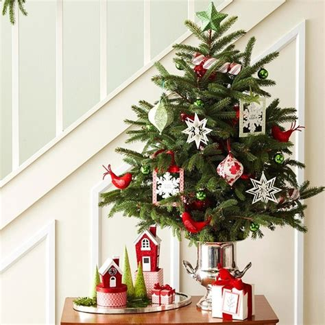 christmas decorations for a small apartment 29 awesome tabletop tree ideas for small spaces godfather style