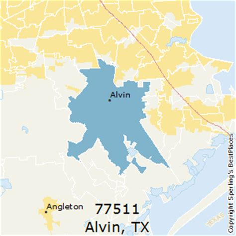 where is alvin texas on the map best places to live in alvin zip 77511 texas