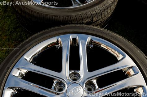 Rims For 2013 Kia Optima 2013 Kia Optima Sxl 18 Quot Chrome Factory Oem Wheels Tires