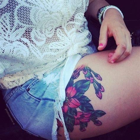 tattoo placement tumblr thigh tattoo tumblr i love the placement tattoo ideas