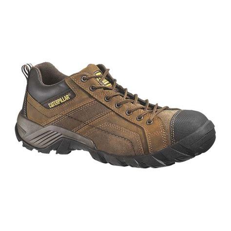 cat p89957 argon brown safety toe work shoe