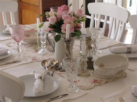 shabby chic tablescapes shabby chic scaping tables pinterest