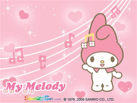 My Melody Birthday Card My Melody Images My Melody Valentines E Card Full View