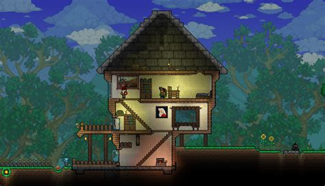 terraria house ideas terraria tree house
