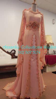 wrna peach royal untuk baju pengantin baitul muslim biiznillah busana pengantin 2012