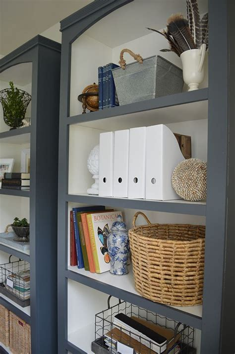 25 best ideas about bookcase makeover on