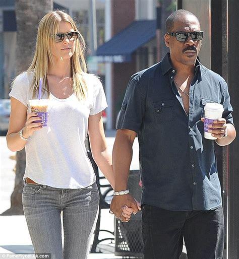 Eddie Murphy and girlfriend Paige Butcher walk hand in hand   Daily Mail Online