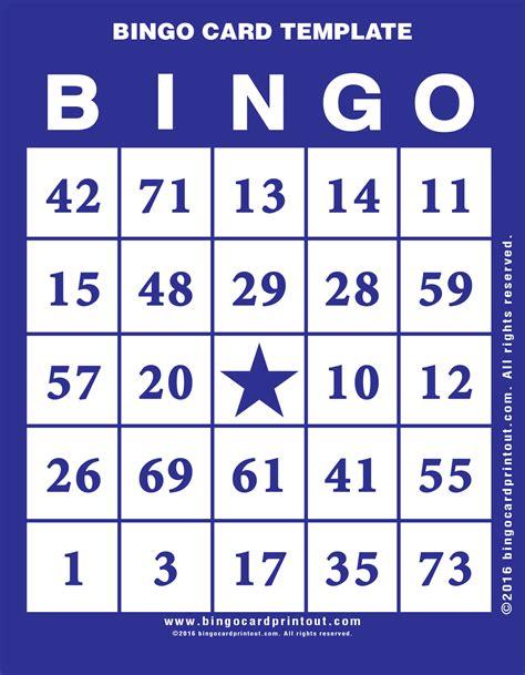 bingo card template generator bingo card template bingocardprintout