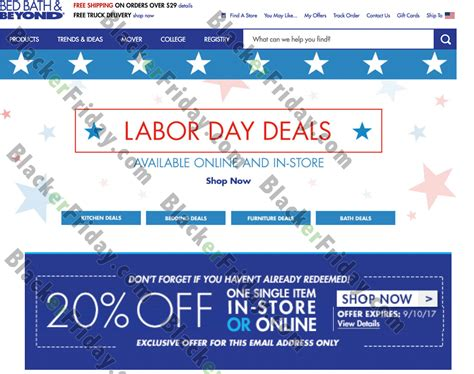 Bed Bath And Beyond Labor Day Sale by Bed Bath Beyond Labor Day Sale 2017 Blacker Friday