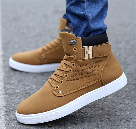 New Fashion Boy Sa75 Brown best designs of casual shoes for 2017