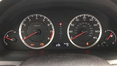 honda accord wrench light 2009 honda accord wrench light reset