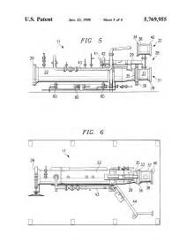 Patent US5769955 - Portable system for launching/catching