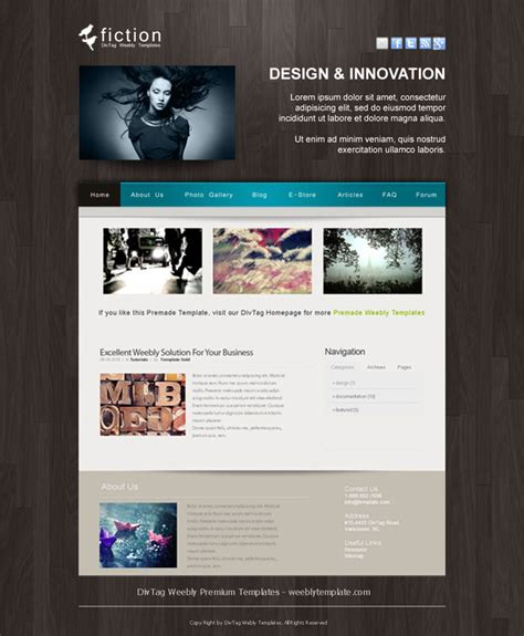 free weebly themes and templates weebly templates and weebly themes divtag templates