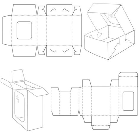 templates for foldable boxes box templates corrugated and folding carton box