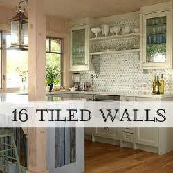 Tiling A Kitchen Backsplash Do It Yourself Trend Alert Arrows In Home Decor Home Stories A To Z