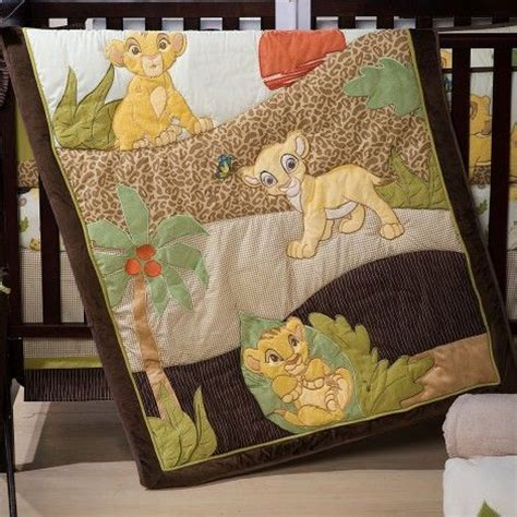 Baby Cing Crib The King Bedding Set Simba And Nala Will Join Your One As He Sets On A Bedtime