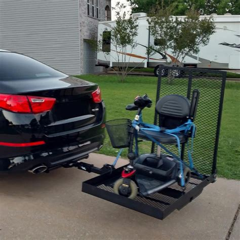 Scooter Rack For Car by Foldable Hitch Mount Wheel Chair Car Carrier Rack Mobility