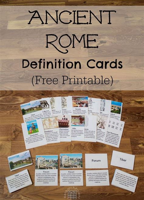 Gift Card Definition - ancient rome definition cards free printable