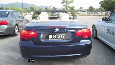 bmw 325i 2010 2010 bmw 325i convertible start up vehicle tour and