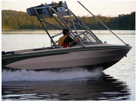 wakeboard boats victoria tower ski wakeboard tubing 16 ft 90hp outboard trailer