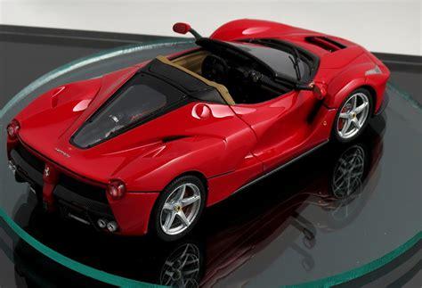 La Ferrari Model by 2017 Laferrari Spider Previewed By Scale Model Photos 1