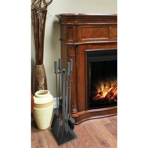 5 fireplace tool set home decorators collection emberly brown 5 fireplace