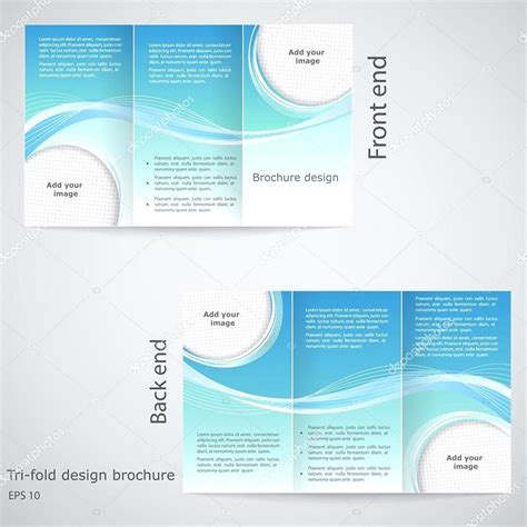 template brochure doc tri fold brochure template google docs best business