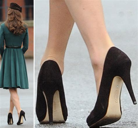 kate middleton shoes emmy shoes brown suede heels for st s day kate