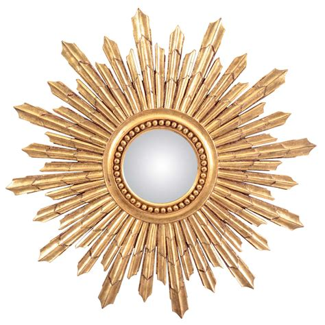 home design studio large sunburst mirror large gilt sunburst mirror late 20th century at 1stdibs