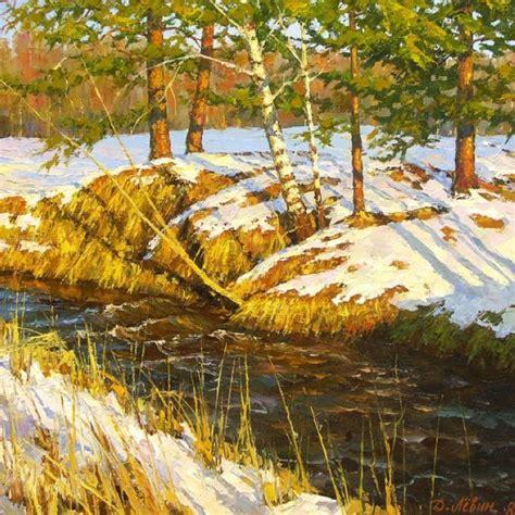 Landscape Paintings Realism Realistic Landscape Paintings By Dmitry Levin The Wondrous