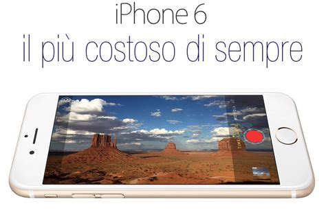 Iphone 6 Di Zalora iphone 6 il pi 249 costoso di sempre supersvago