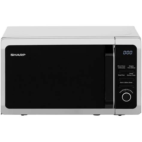 Sharp Microwave Oven Grill 1000 Watt R 728w In R728 In sharp microwave r664slm 800 watt microwave free standing silver new from ao ebay