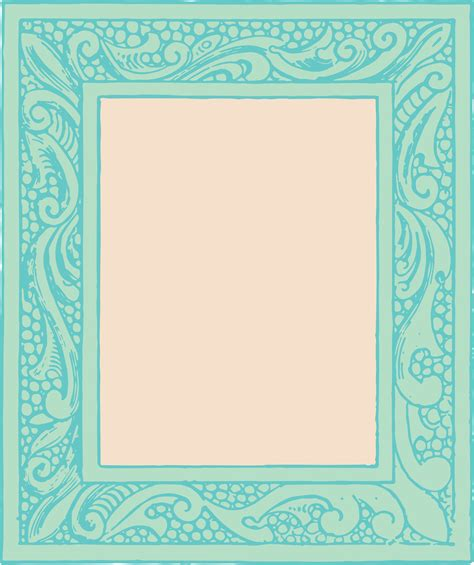 printable art to frame free vector clipart vintage frames oh so nifty vintage