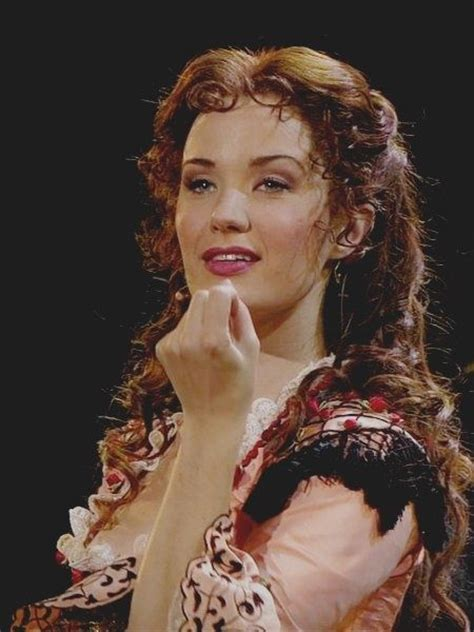 hair for the opera sierra boggess as christine daae in the phantom of the