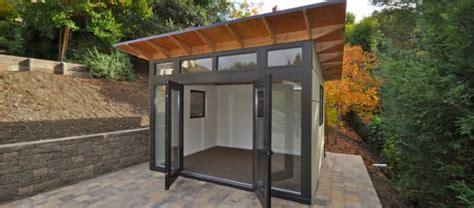 Garage Storage Design Plans eric s excellent getaway a backyard gym in a shed