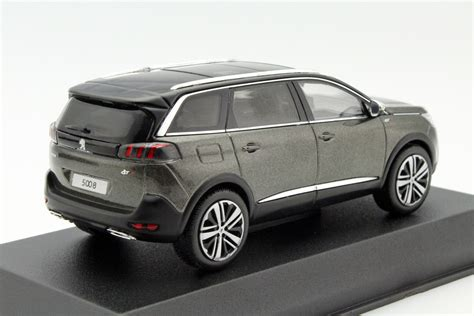 peugeot grey peugeot 5008 gt 2016 amazonite grey die cast model