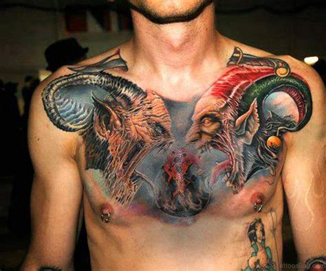 tattoo on the chest for men 75 brilliant chest tattoos for