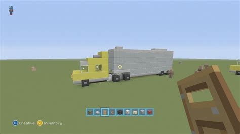 minecraft truck spanklechank s minecraft tutorials how to make a semi