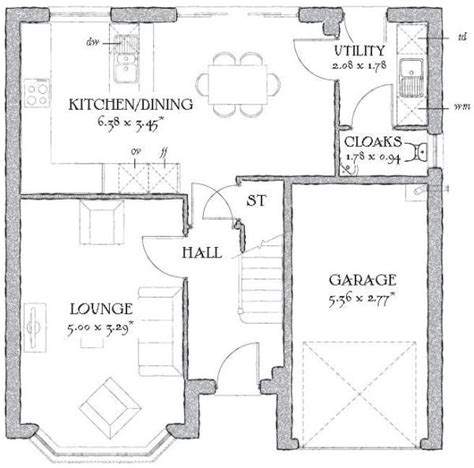 sle floor plans for homes redrow floorplan idea 1930s house pinterest 1930s