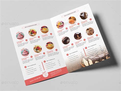 cupcake menu template 27 bakery menu templates free sle exle format