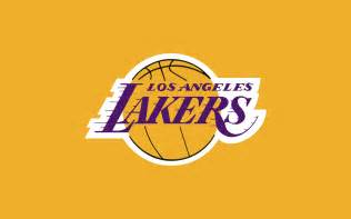 los angeles lakers orange logo wallpapers hd desktop and