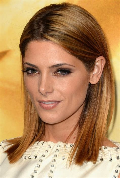 Ashley Greene Medium Length Hairstyles 2014 Straight Hair | ashley greene medium length hairstyles 2014 straight hair