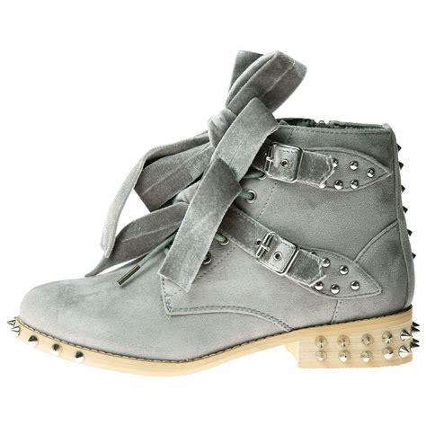 womens ankle biker boots womens shoes biker boots ankle velvet bow ribbon