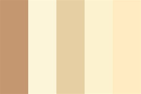 skin colors color palette