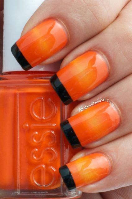 ideas  orange nail polish  pinterest zoya nail polish gradient nails  nail polish