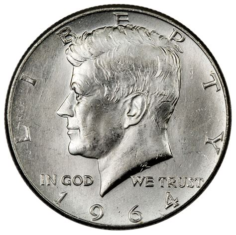 roll of 20 90 silver 1964 kennedy half dollars choice bu sku37127 ebay